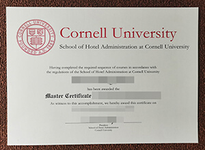 Getting a fake Cornell University School of Hotel Administration degree