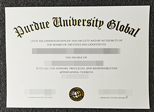 The best place to buy a fake Purdue University Global degree