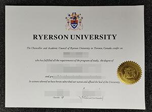 Ryerson University degree