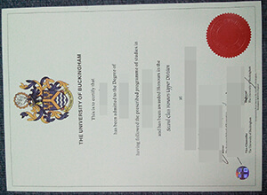 University of Buckingham degree
