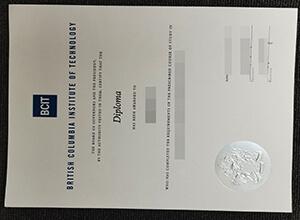 BCIT diploma
