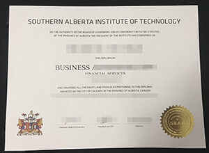 Southern Alberta Institute of Technology degree