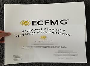 New Version of ECFMG fake Certificate, buy fake certificate in Malaysia