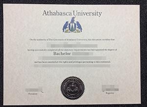 Athabasca University degree