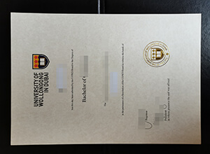 UOWD degree sample, buy fake University of Wollongong in Dubai diploma