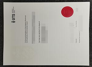 University of Technology Sydney (UTS) fake degree