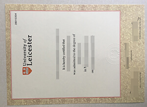 How can I get a fake University of Leicester degree in UK?