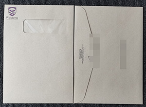 Where to buy fake Western University envelope and transcript?