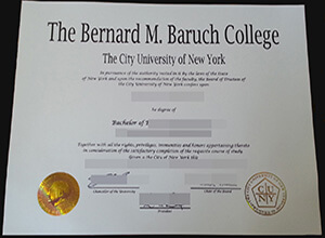 The reliable website selling the fake Baruch College Degree online