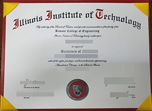 Selling a 100% copy of Illinois Institute of Technology degree from USA here