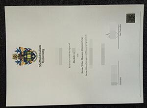 Sheffield Hallam University degree