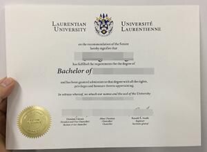 Laurentian University diploma