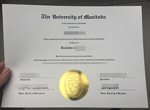 University of Manitoba diploma