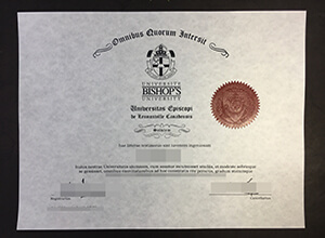 Purchase a Fake Bishop's University Diploma, How to Buy Canada Degree