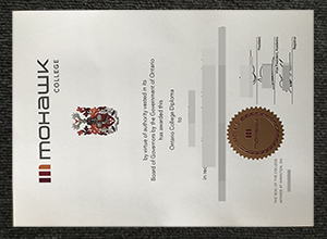 How to Get Mohawk College Fake Diploma online?