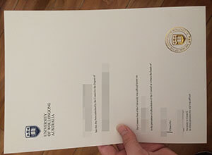 How much is a fake University of Wollongong diploma at Australia?