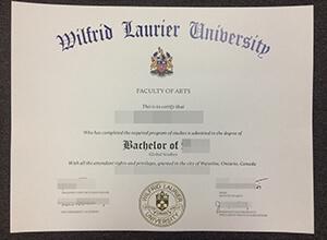 Order a fake Wilfrid Laurier University diploma, buy fake  WLU  degree