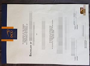 Buy fake DCU diploma in Ireland, How to get Dublin City University degree?