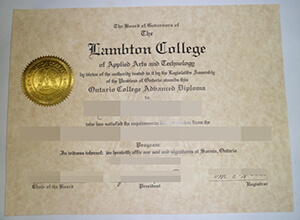 Buy a Lambton College fake diploma, obtain a fake  Lambton College degree in Canada
