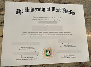 University of West Florida diploma