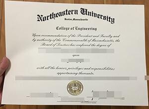 Northeastern University diploma