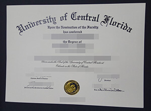 Where to Get A Fake University of Central Florida (UCF) diploma?