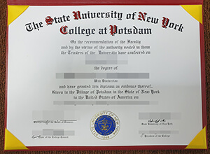 Can I make a fake SUNY Potsdam bachelor degree?