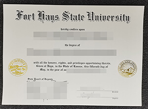 Obtain a fake FHSU diploma, Purchase a fake Fort Hays State University degree online