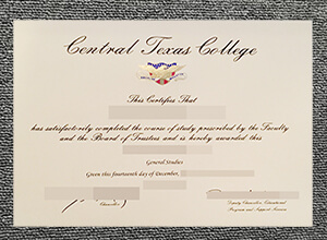 Fake CTC diploma, Buy fake Central Texas College diploma from Canada