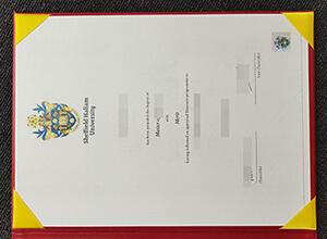 Sheffield Hallam University diploma