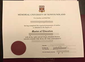 How to buy fake Memorial University of Newfoundland diploma from Canada?