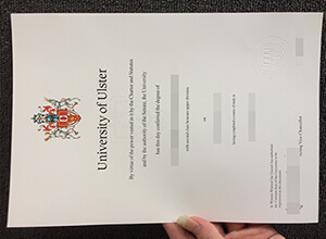 Ulster University diploma
