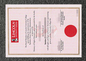 Purchase a fake Lincoln University College diploma in Malaysia