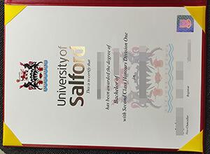 University of Salford diploma