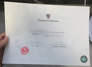 Durham University diploma