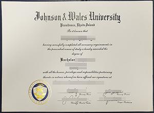 Order a fake Johnson & Wales University diploma, buy fake JWU degree