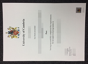 How long to get the fake University of Cumbria degree from UK?