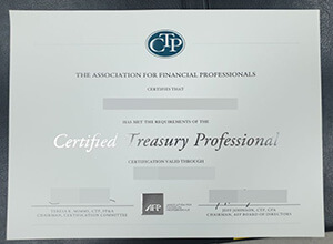 CTP Fake Certificate maker | To Be The Certified Treasury Professional