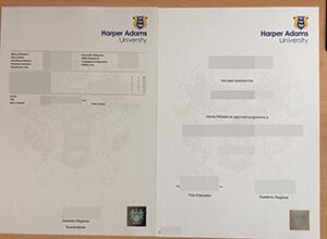 Harper Adams University diploma