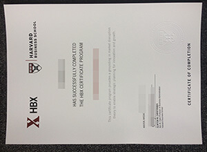Harvard Business School degree