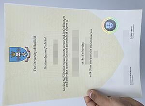 University of Sheffield fake degree certificate for selling here