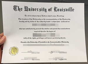 Where can I buy a fake University of Louisville degree certificate?