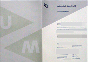 How to buy a fake Maastricht University diploma ? MU  Getuigschrift maker