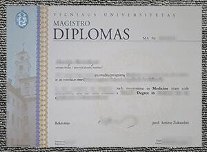 Vilniaus universitetas diploma
