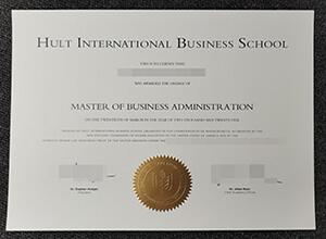 Hult Business School diploma