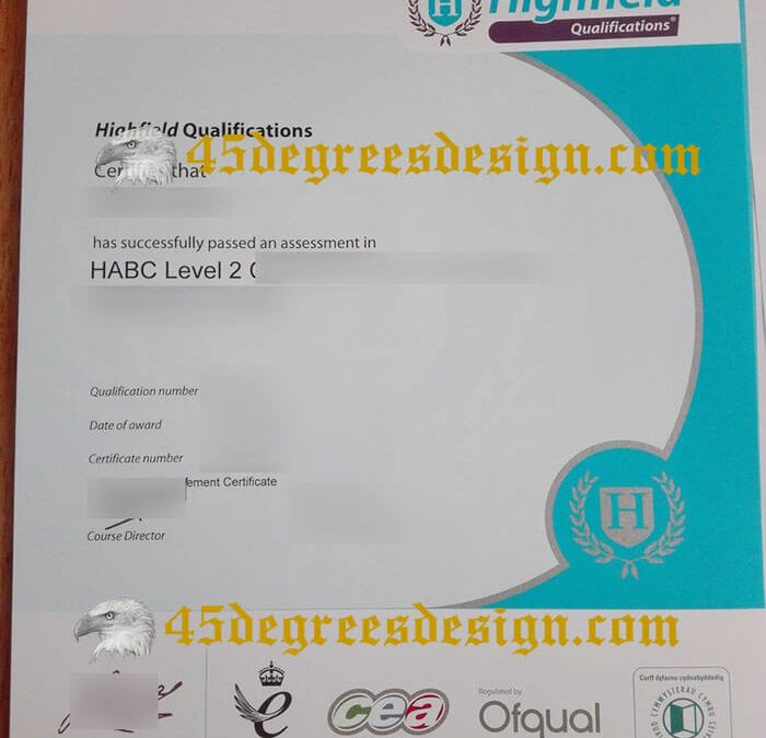 How to buy fake Highfield Qualifications certificate? Buy a diploma