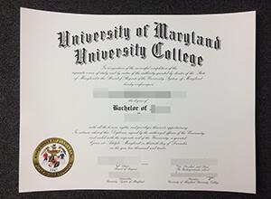 University Of Maryland University College(UMUC) Fake degree maker