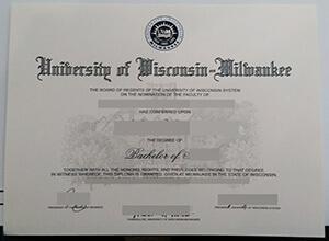 Where to buy fake University of Wisconsin–Milwaukee diploma?