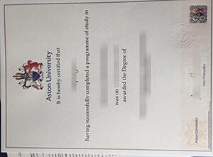 Aston University diploma