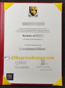 London School of Economics bachelor degree